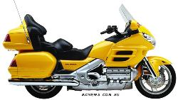 Honda GL 1800 SE Gold Wing ABS 2004
